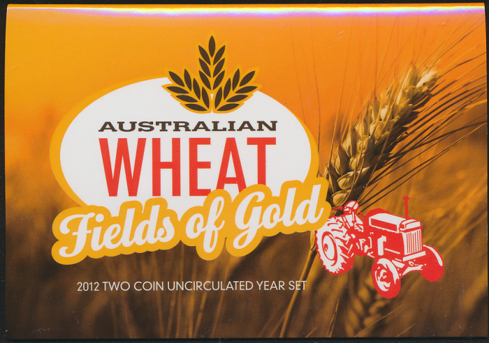 Australia-2012-Wheat-Fields-of-Gold-2-coin-set-UNC