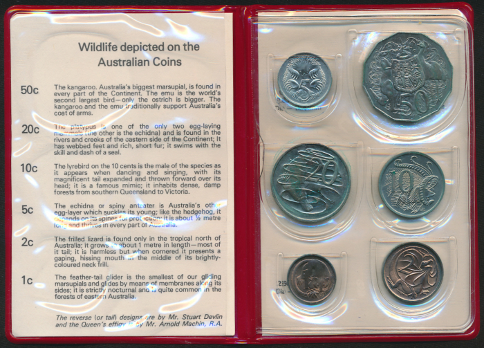 Australia-1976-RAM-6-coin-Mint-Set-Cat-40