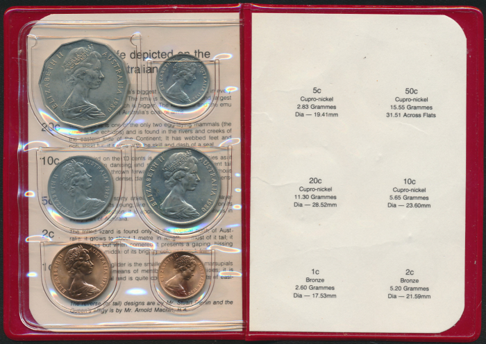 Australia-1980-RAM-6-coin-Mint-Set