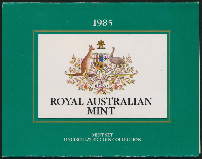 Australia-1985-RAM-7-Coin-Mint-Set-Cat-45