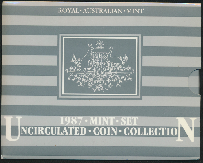 Australia-1987-RAM-7-coin-Mint-Set