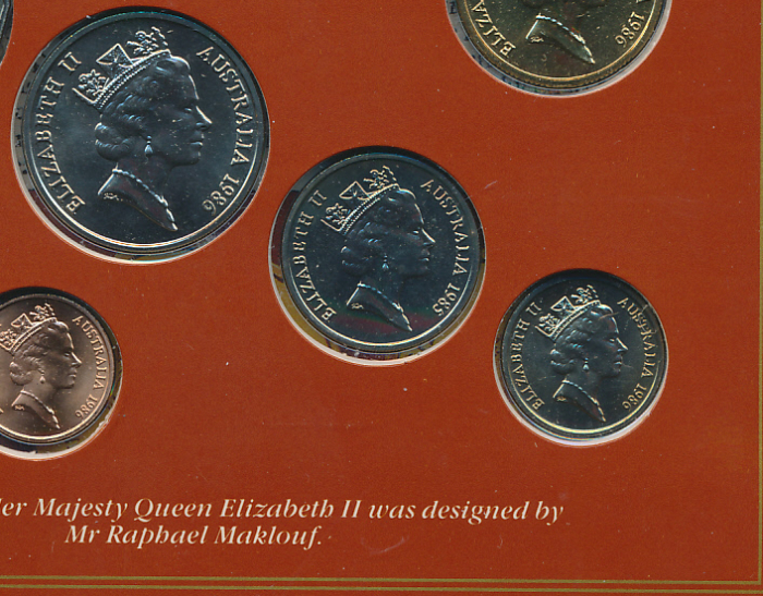 Australia-1986-ERROR-Set-with-1985-10c-RARE